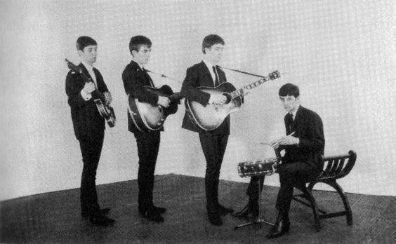 The Beatles: Paul McCartney, George Harrison, John Lennon and Ringo Starr