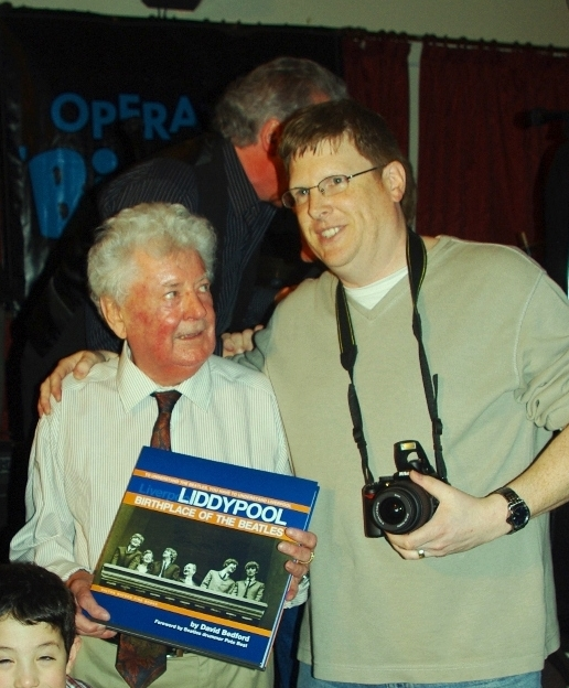 David Bedford with Allan Williams, the Beatles first manager