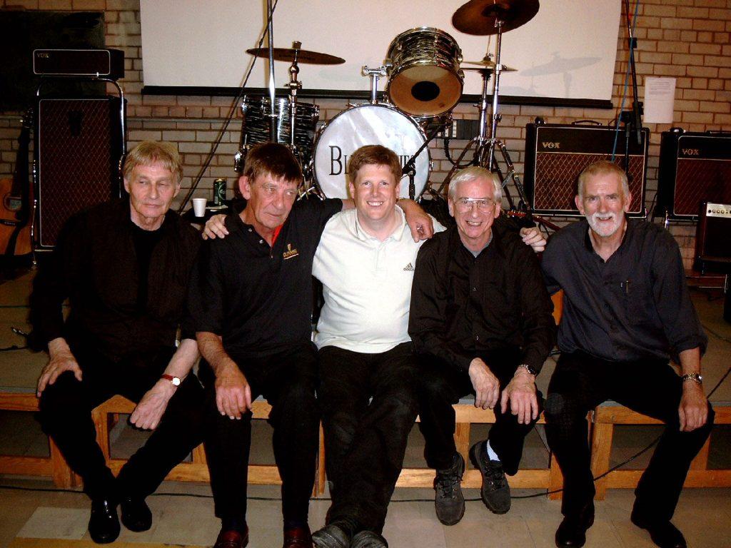 David with The Quarrymen