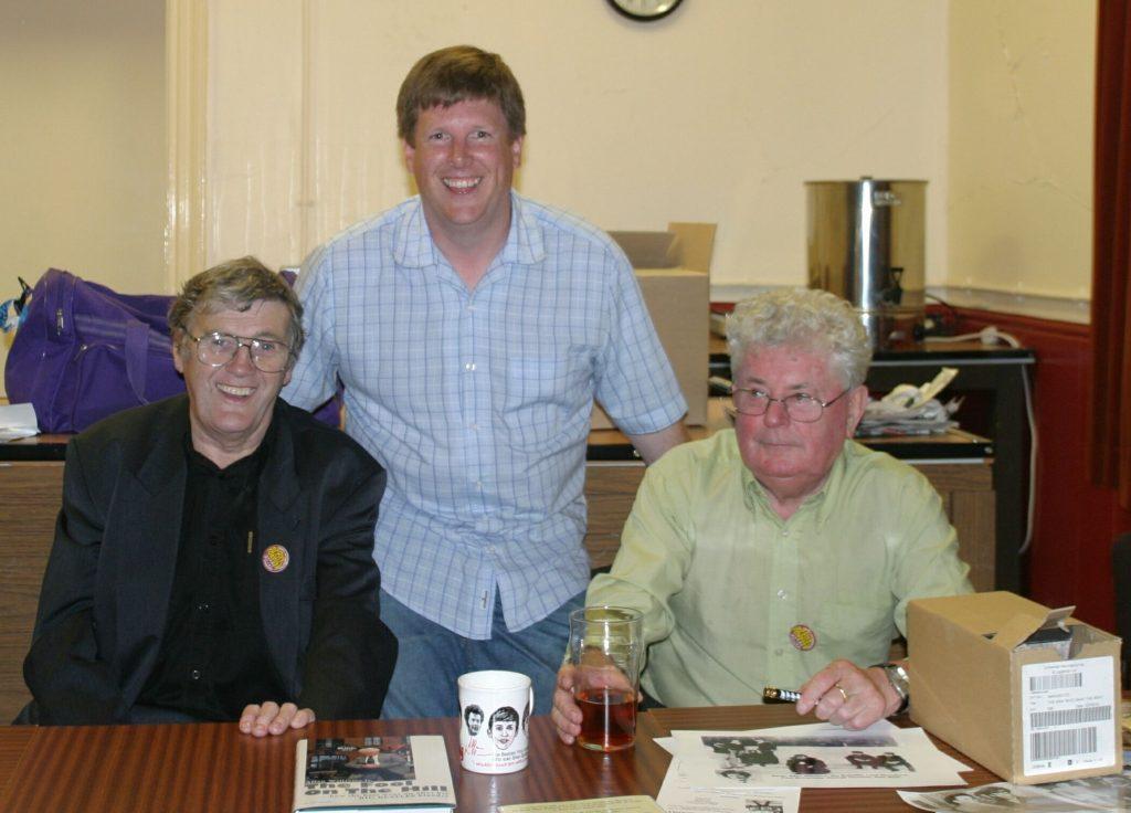 David with Sam Leach and Allan Williams