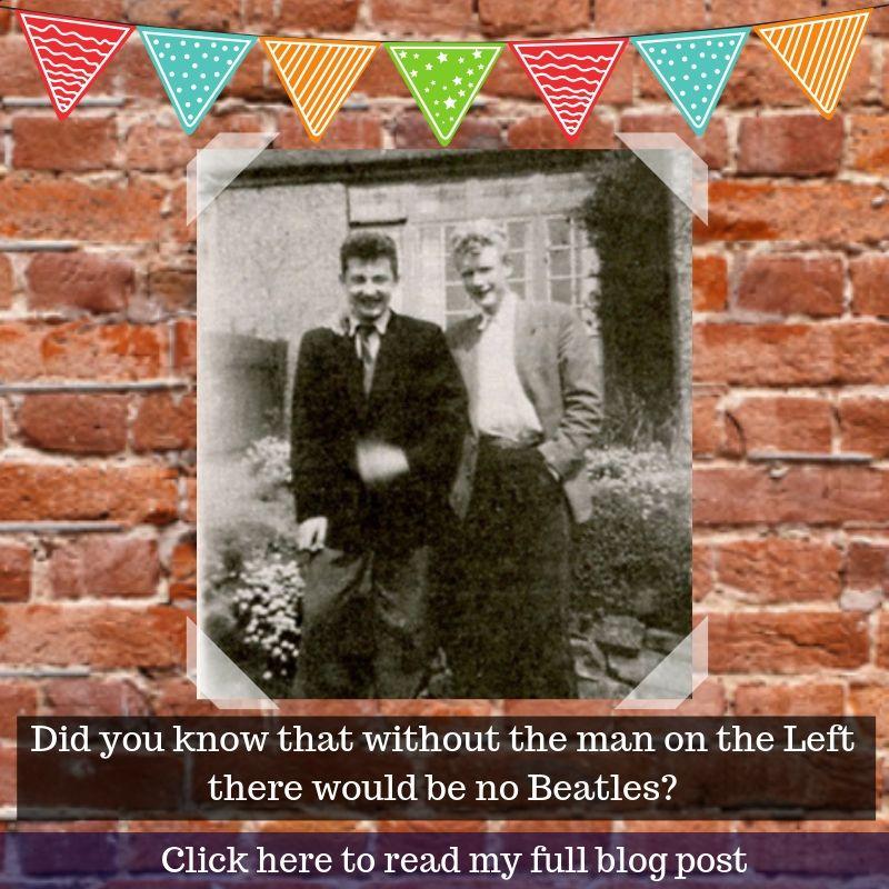 Ivan (left) with Pete Shotton
