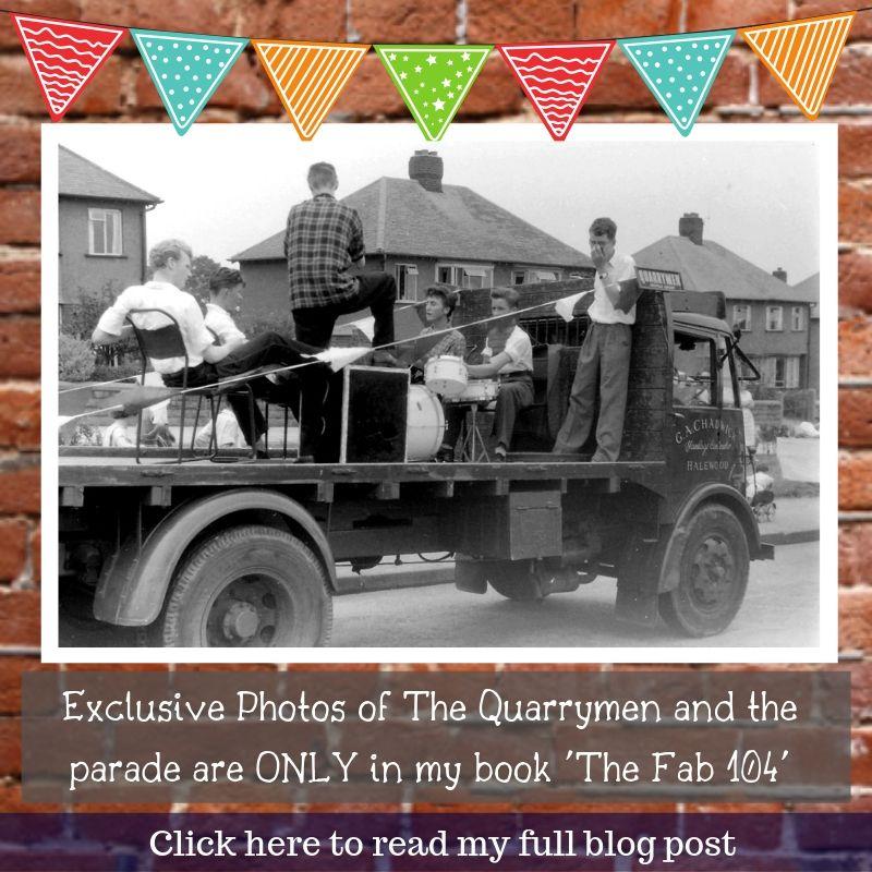 The Quarrymen with John Lennon
