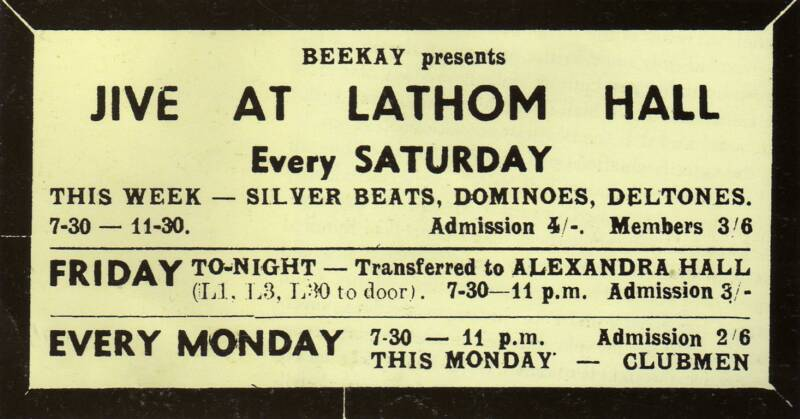 As well as being known as Silver Beetles or Silver Beatles, they were advertised as The Silver Beats