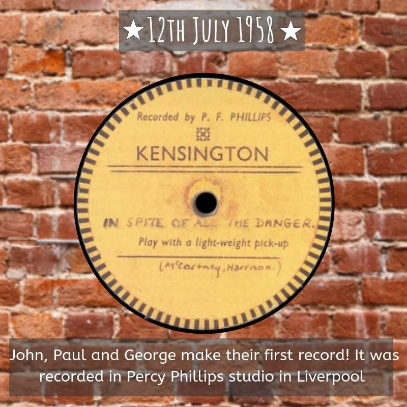 Percy Phillips Record by The Quarrymen