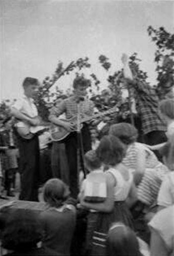 The Quarrymen at St. Peter's Church on 6th July 1957