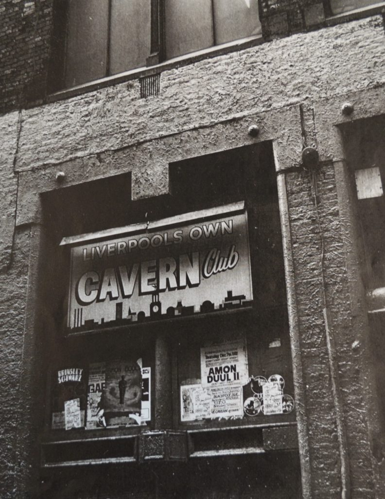 The Cavern Club, Mathew Street, where The Beatles played nearly 300 times