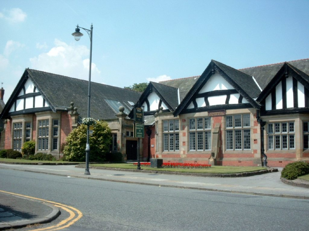 Hulme Hall, where Ringo made his debut with The Beatles