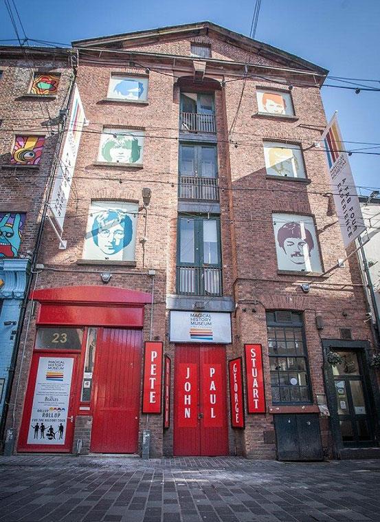 The Magical Beatles Museum on Mathew Street