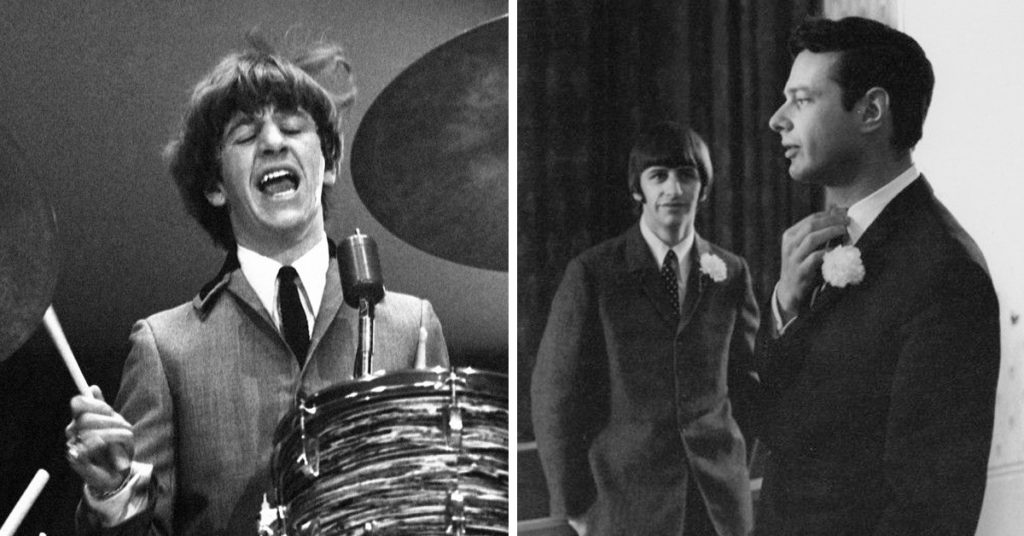 Beatles drummer Ringo Starr joined The Beatles in August 1962