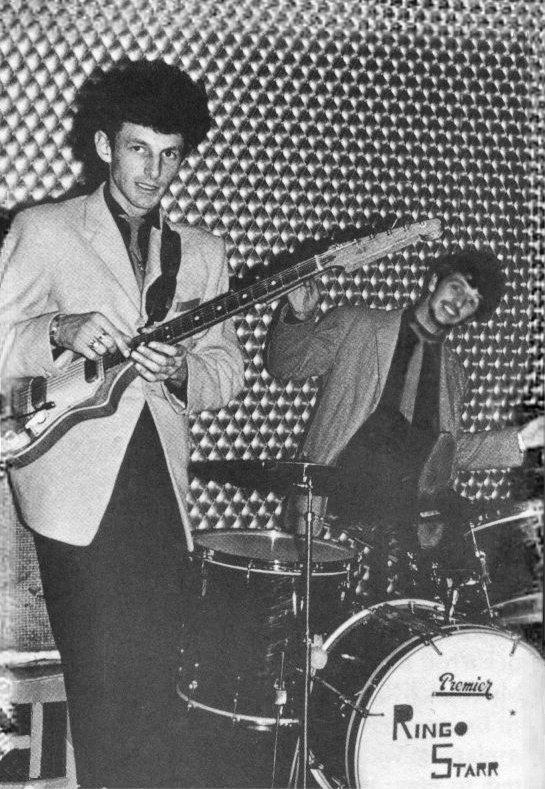 Johnny Guitar and Ringo.