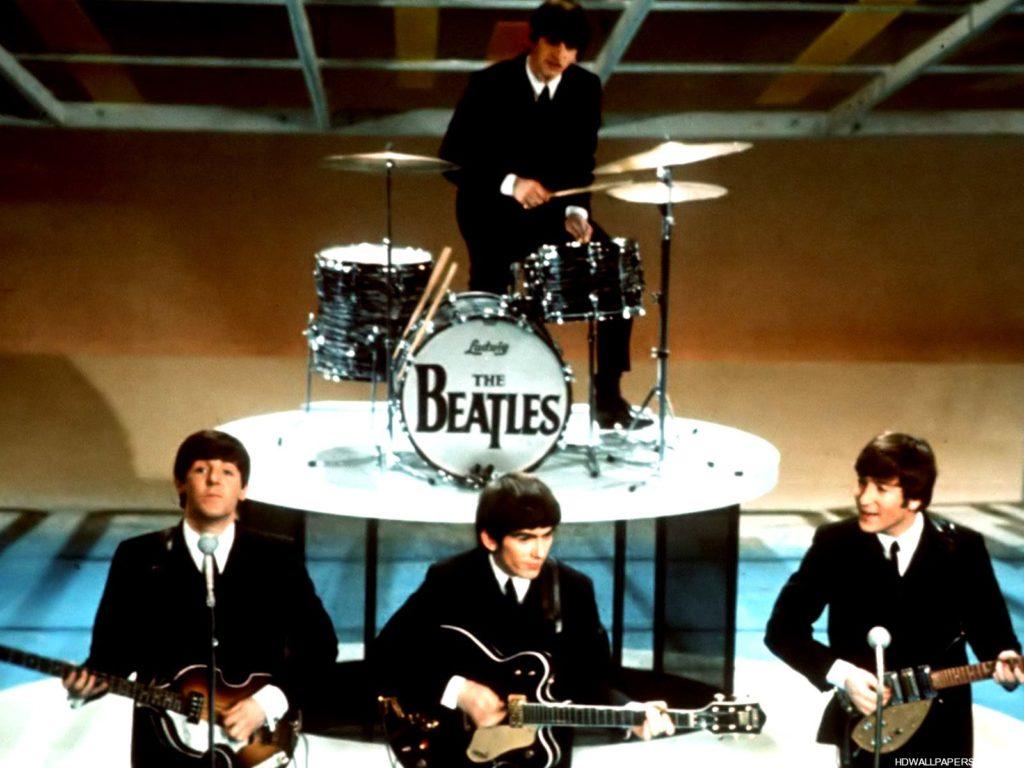 The Beatles John Paul George and Ringo - The Fab Four