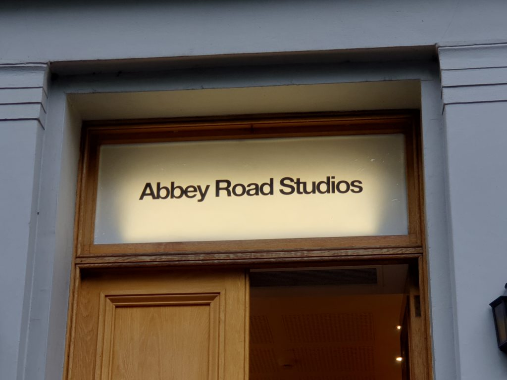 EMI Studios, Abbey Road, where The Beatles recorded