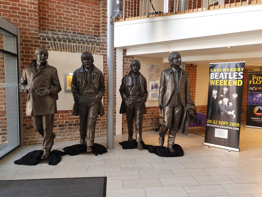 The other Beatles Statues