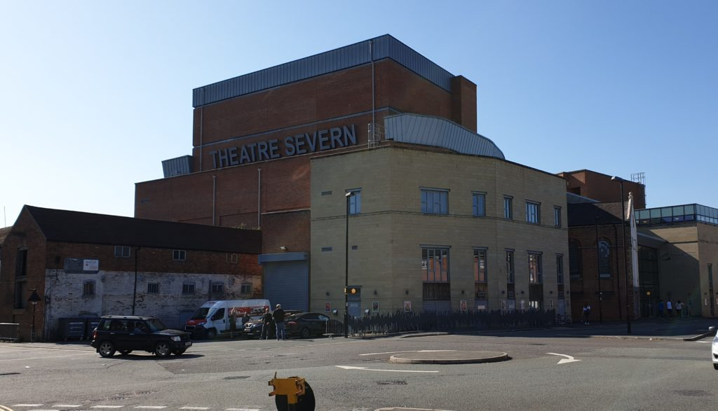 The Theatre Severn, where The Beatles films were shown