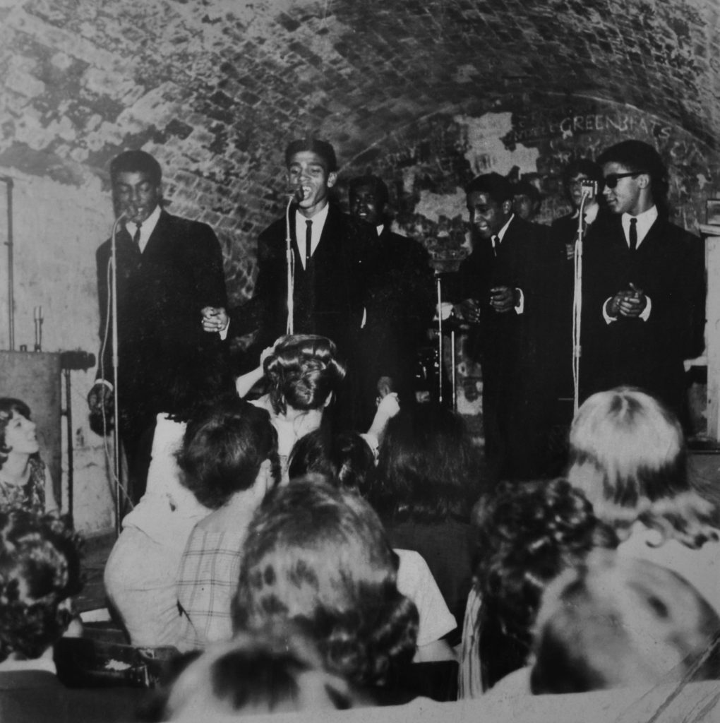 The Shades, who became The Chants at The Cavern