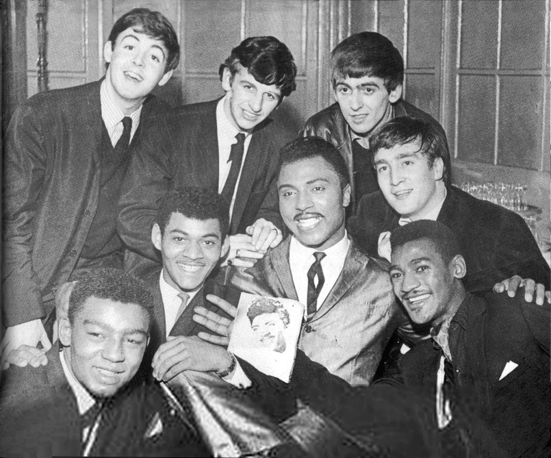 Little Richard with The Beatles, The Chants and Derry Wilkie at New Brighton's Tower Ballroom