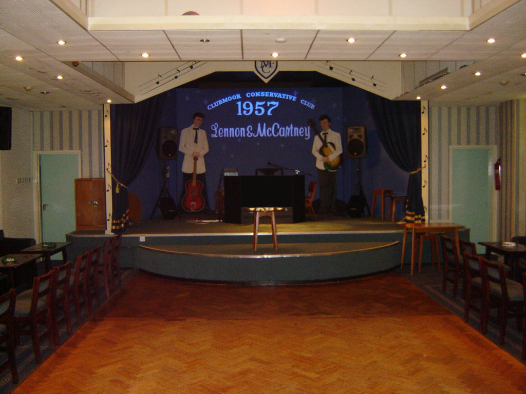How New Clubmoor Hall celebrated John and Paul playing there in 1957