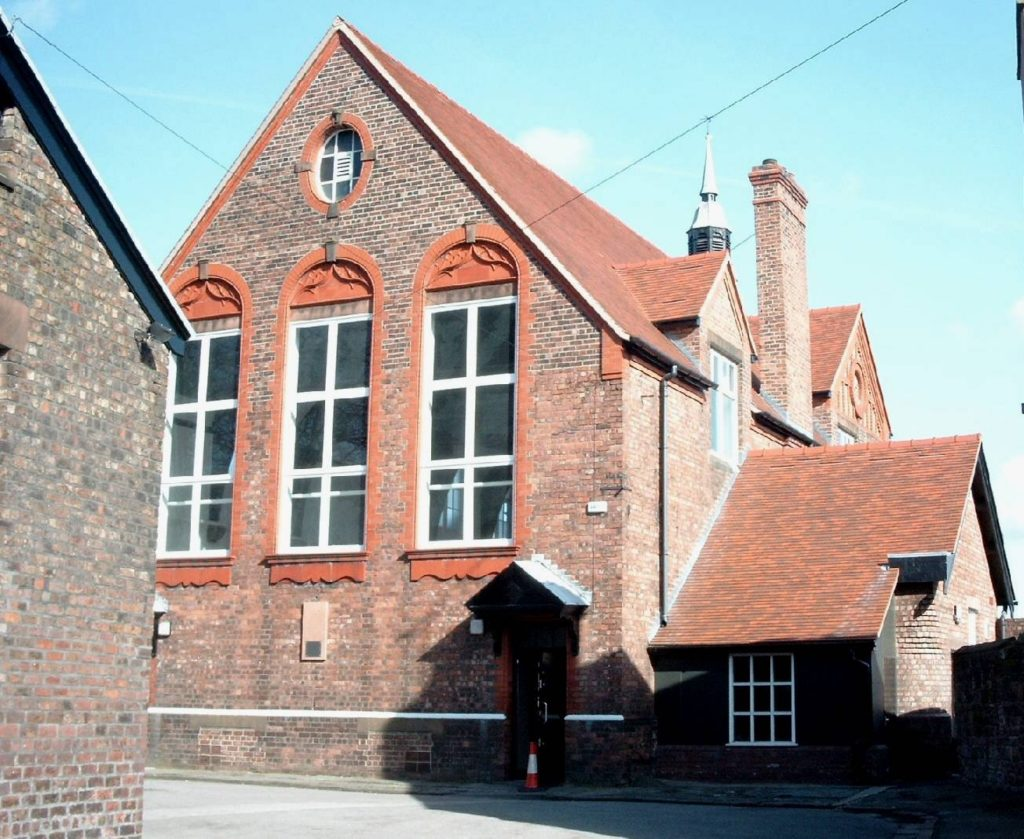 St Peter's Church Hall, where The Quarrymen played with Paul McCartney