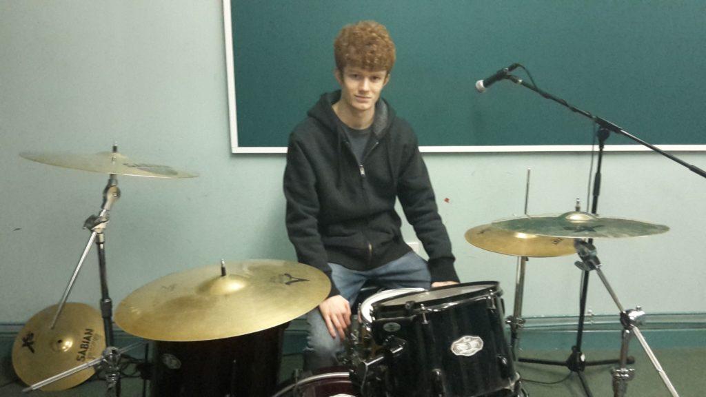 Drummer Andrew Hinton