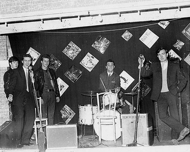 Beatles drummer, Terry McCann