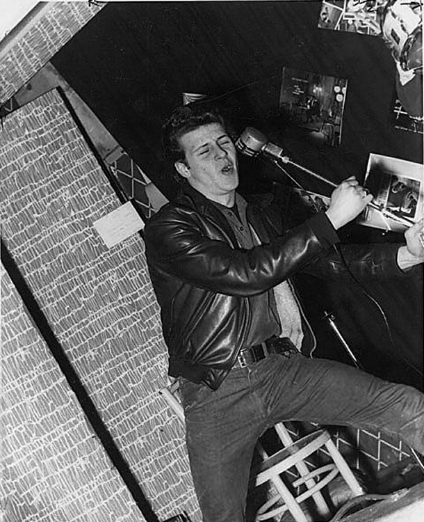 Pete Best sings with The Beatles